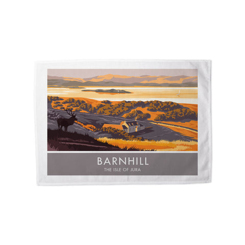 Barnhill, The Isle of Jura, Scotland Tea Towel