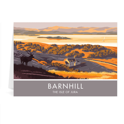 Barnhill, The Isle of Jura, Scotland Greeting Card 7x5