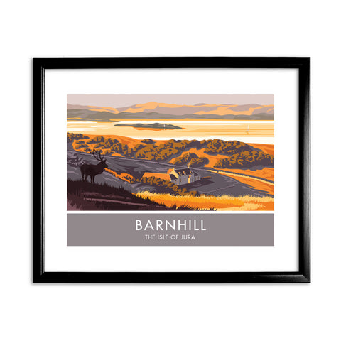 Barnhill, The Isle of Jura, Scotland 11x14 Framed Print (Black)