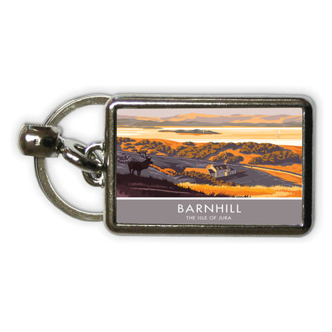 Barnhill, The Isle of Jura, Scotland Metal Keyring