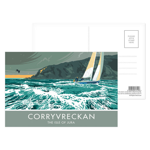 Corryvreckan, The Isle of Jura, Scotland Postcard Pack