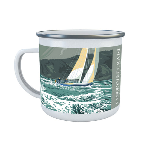 Corryvreckan, The Isle of Jura, Scotland Enamel Mug