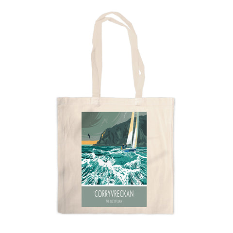 Corryvreckan, The Isle of Jura, Scotland Canvas Tote Bag