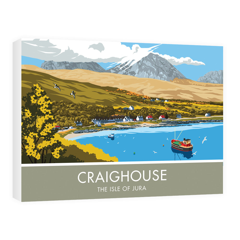 Craighouse, The Isle of Jura, Scotland 60cm x 80cm Canvas