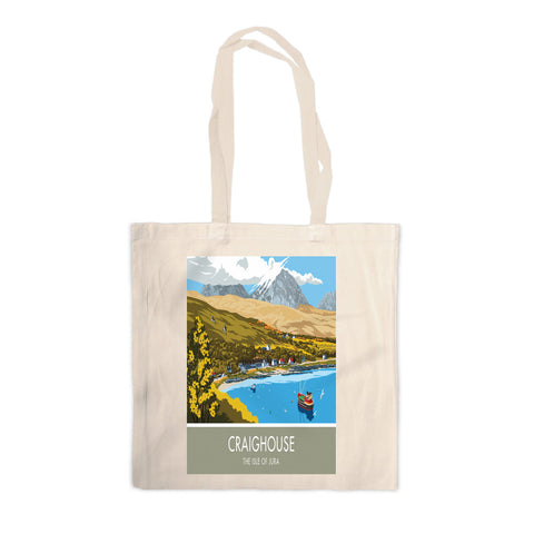 Craighouse, The Isle of Jura, Scotland Canvas Tote Bag