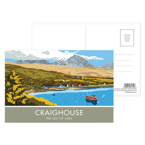 Craighouse, The Isle of Jura, Scotland Postcard Pack