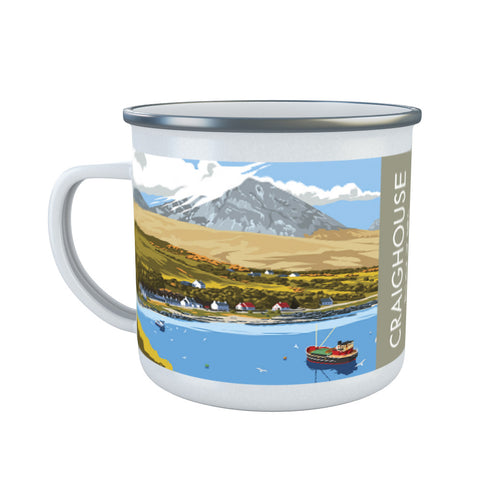 Craighouse, The Isle of Jura, Scotland Enamel Mug