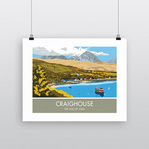 Craighouse, The Isle of Jura, Scotland 90x120cm Fine Art Print