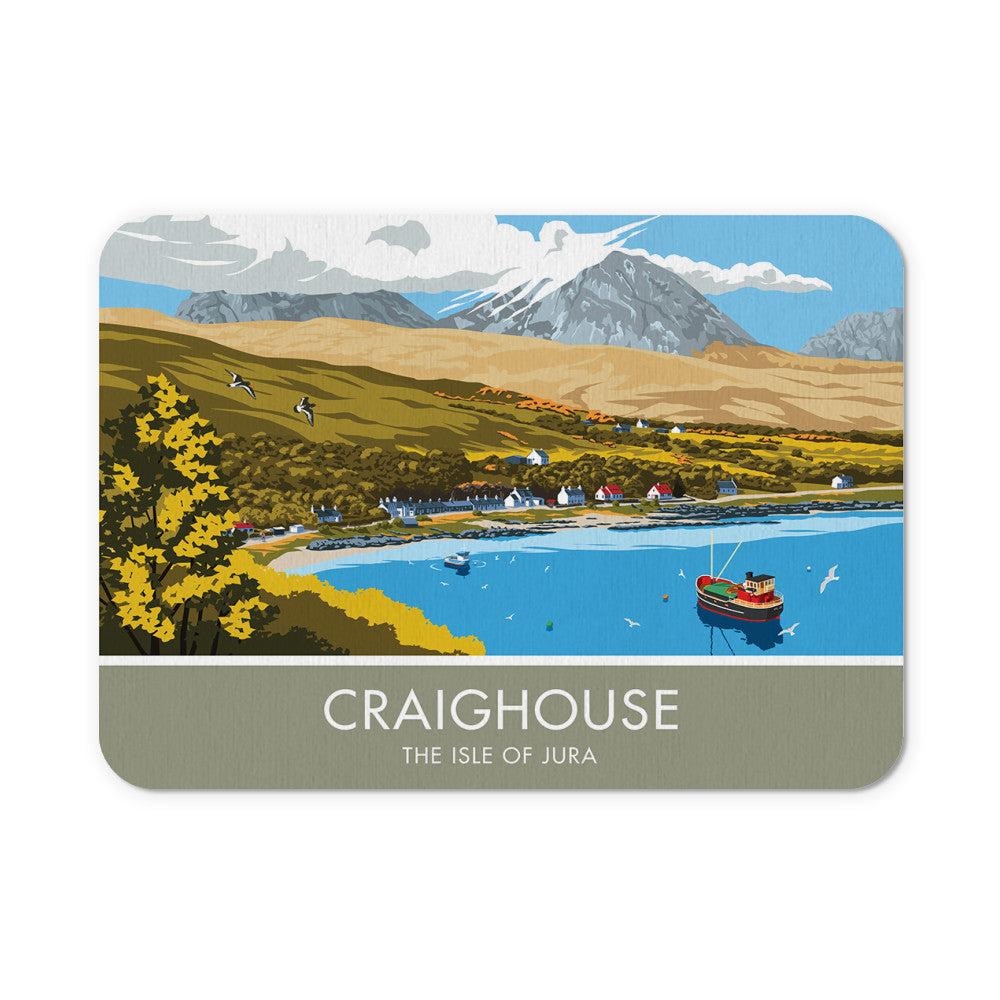 Craighouse, The Isle of Jura, Scotland Mouse mat