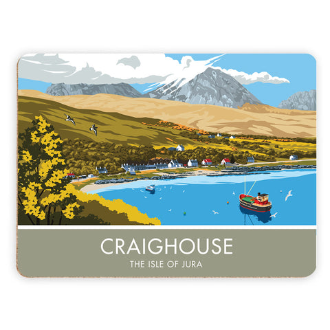 Craighouse, The Isle of Jura, Scotland Placemat