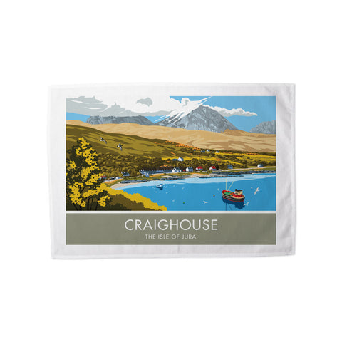 Craighouse, The Isle of Jura, Scotland Tea Towel