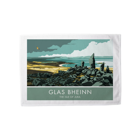 Glas Bheinn, The Isle of Jura, Scotland Tea Towel