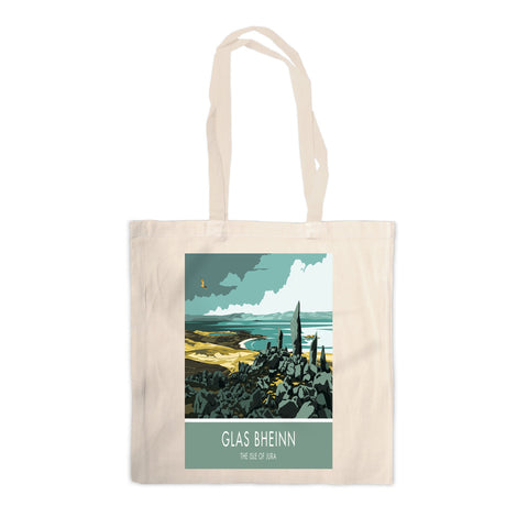 Glas Bheinn, The Isle of Jura, Scotland Canvas Tote Bag