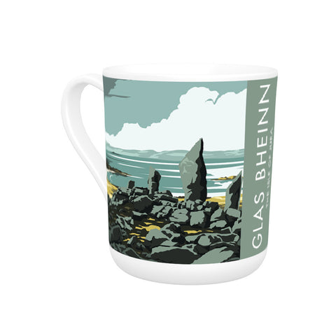 Glas Bheinn, The Isle of Jura, Scotland Bone China Mug