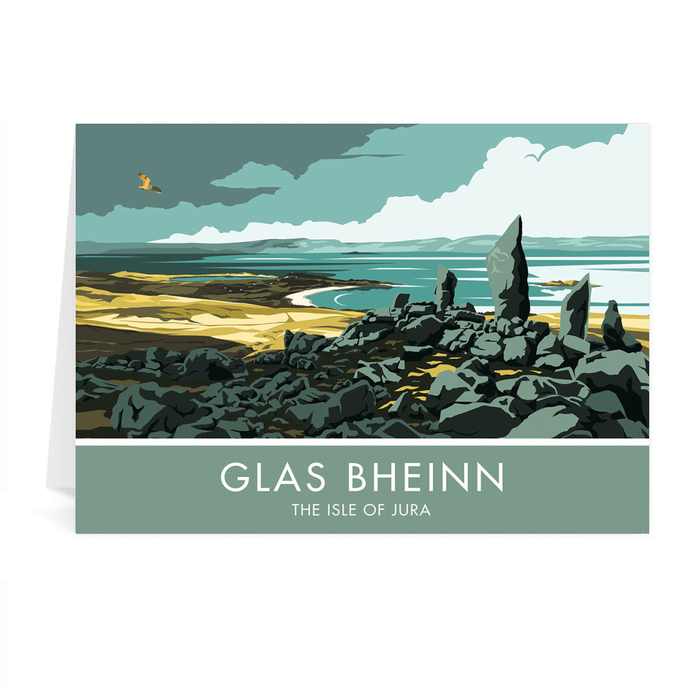 Glas Bheinn, The Isle of Jura, Scotland Greeting Card 7x5