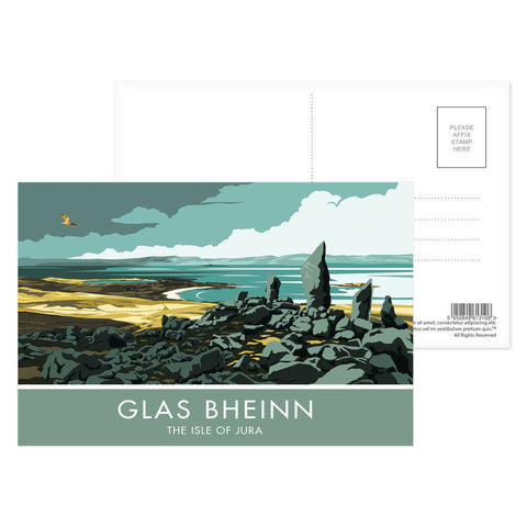 Glas Bheinn, The Isle of Jura, Scotland Postcard Pack