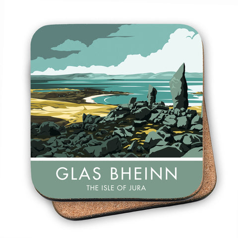 Glas Bheinn, The Isle of Jura, Scotland MDF Coaster