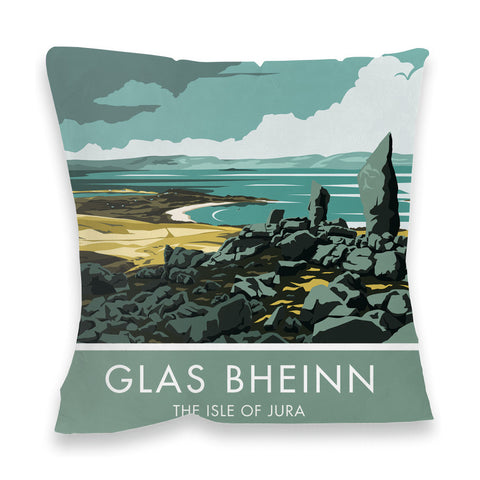 Glas Bheinn, The Isle of Jura, Scotland Fibre Filled Cushion
