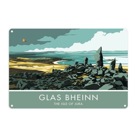 Glas Bheinn, The Isle of Jura, Scotland Metal Sign