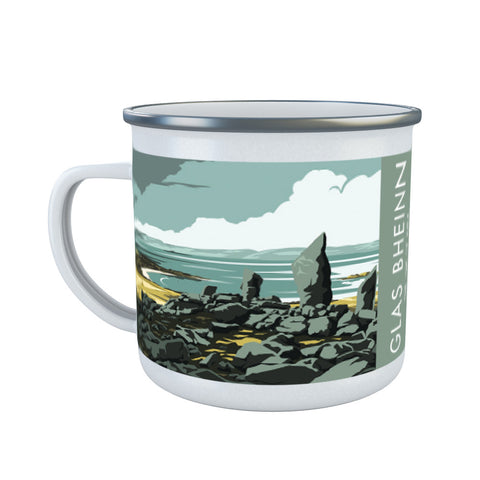 Glas Bheinn, The Isle of Jura, Scotland Enamel Mug