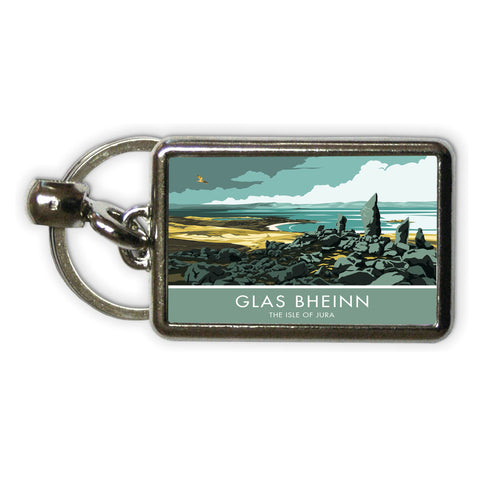Glas Bheinn, The Isle of Jura, Scotland Metal Keyring