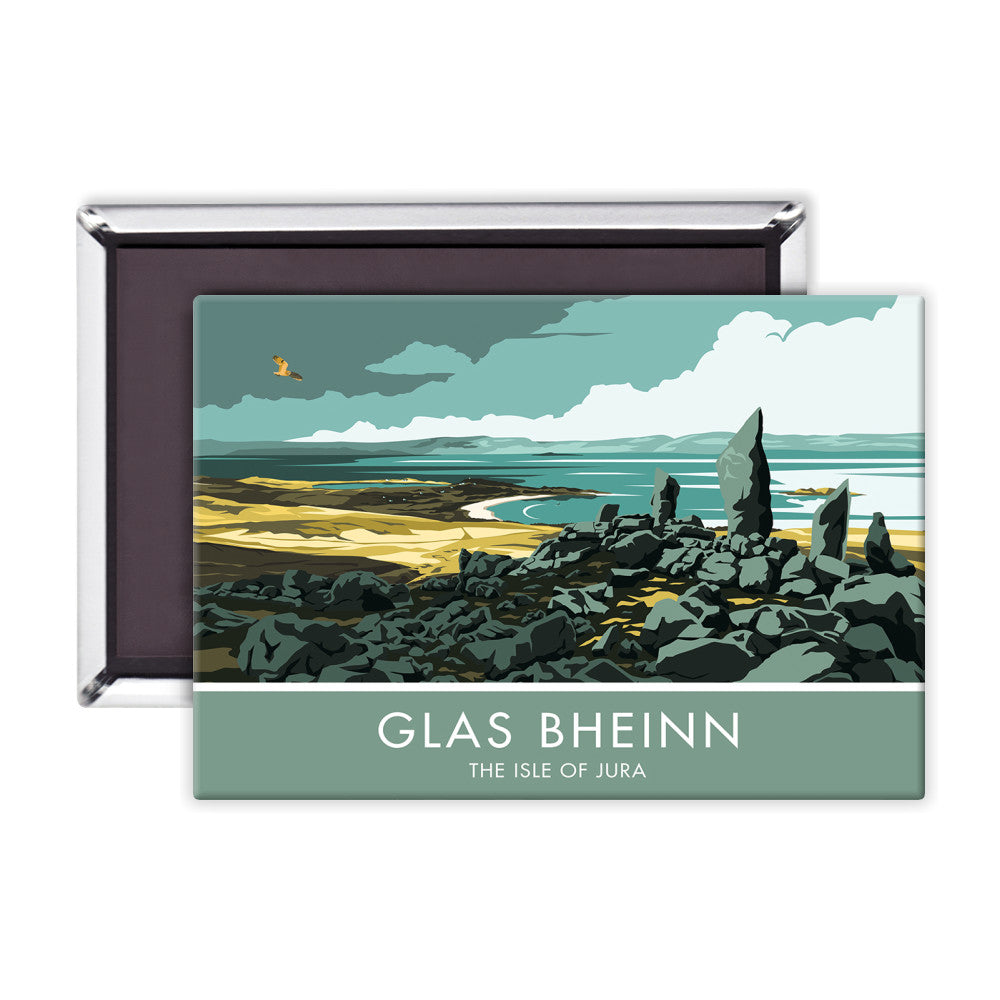 Glas Bheinn, The Isle of Jura, Scotland Magnet