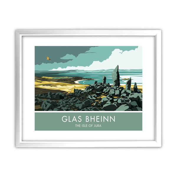 Glas Bheinn, The Isle of Jura, Scotland 11x14 Framed Print (White)