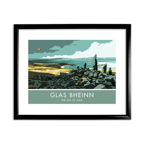 Glas Bheinn, The Isle of Jura, Scotland 11x14 Framed Print (Black)