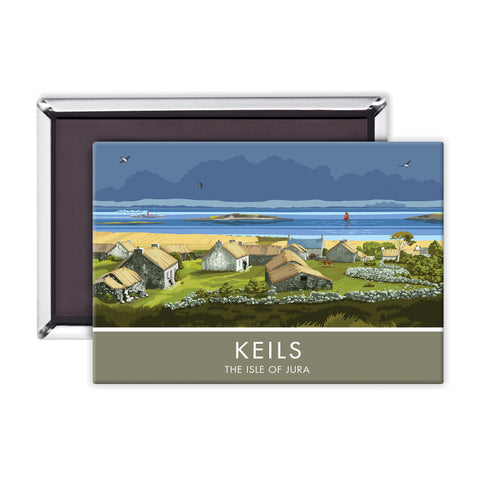 Keils, The Isle of Jura, Scotland Magnet