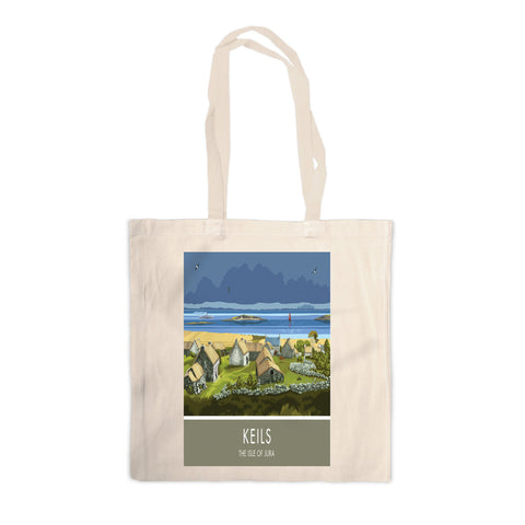 Keils, The Isle of Jura, Scotland Canvas Tote Bag