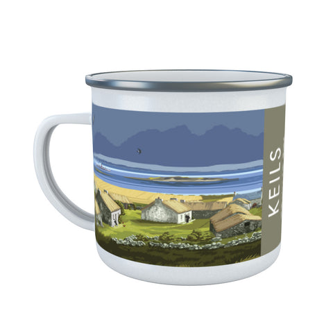 Keils, The Isle of Jura, Scotland Enamel Mug