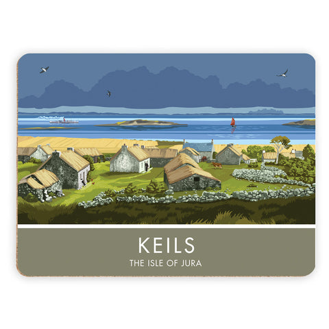 Keils, The Isle of Jura, Scotland Placemat