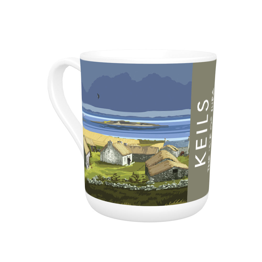 Keils, The Isle of Jura, Scotland Bone China Mug