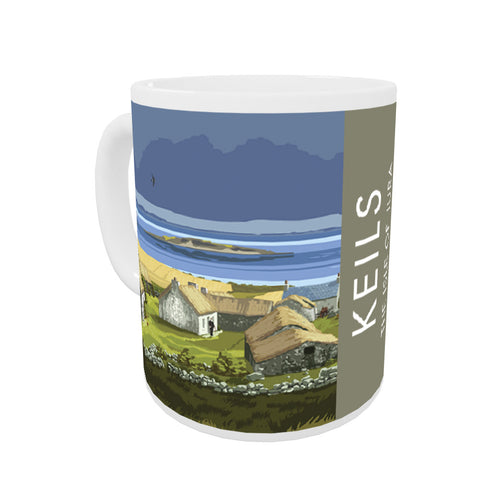 Keils, The Isle of Jura, Scotland Coloured Insert Mug