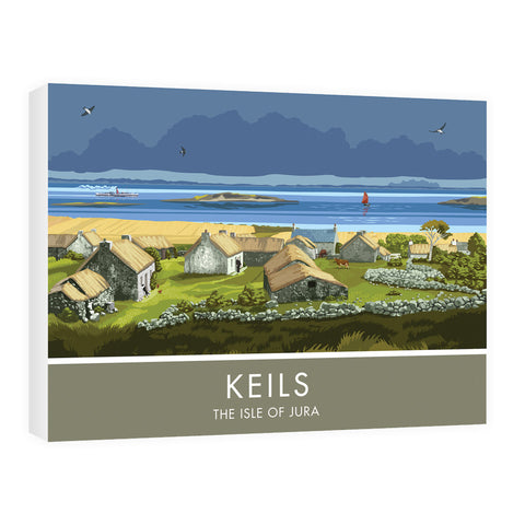 Keils, The Isle of Jura, Scotland 60cm x 80cm Canvas