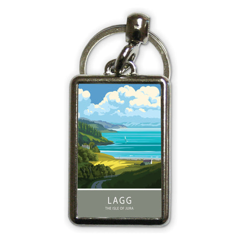 Lagg, The Isle of Jura, Scotland Metal Keyring