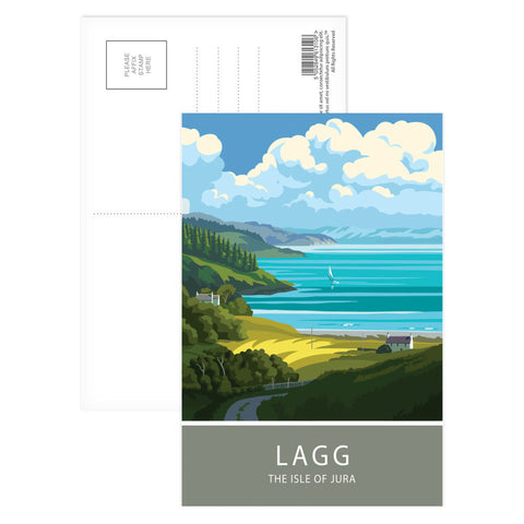 Lagg, The Isle of Jura, Scotland Postcard Pack