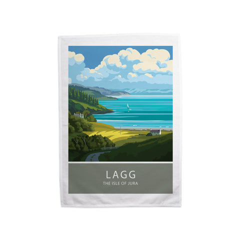 Lagg, The Isle of Jura, Scotland Tea Towel
