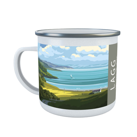 Lagg, The Isle of Jura, Scotland Enamel Mug