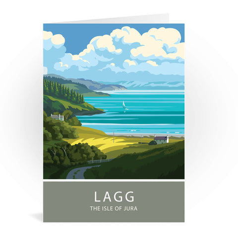 Lagg, The Isle of Jura, Scotland Greeting Card 7x5