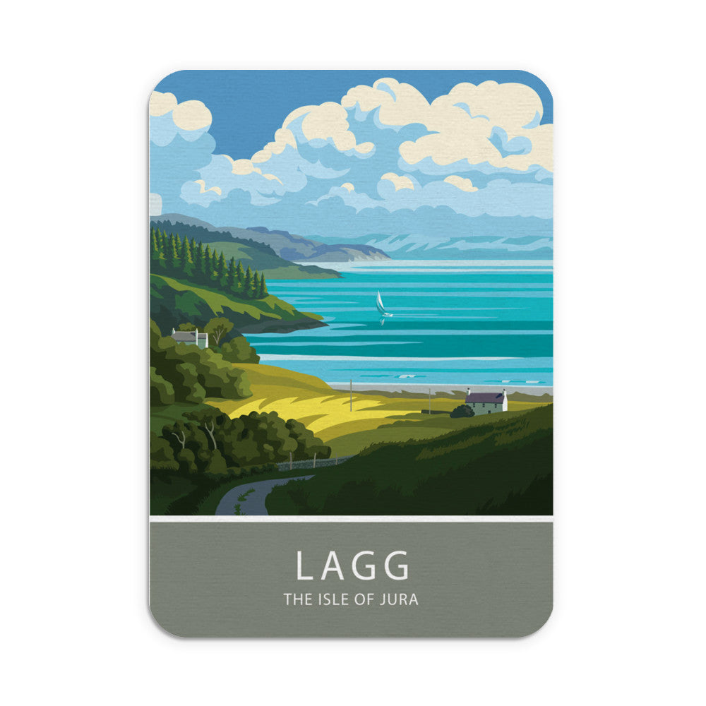 Lagg, The Isle of Jura, Scotland Mouse mat
