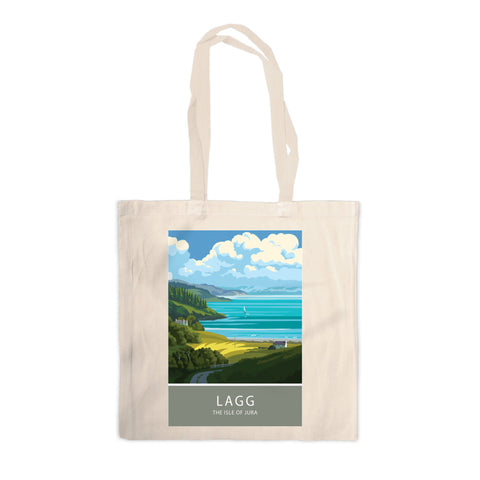 Lagg, The Isle of Jura, Scotland Canvas Tote Bag