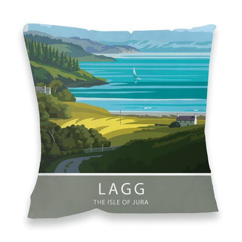 Lagg, The Isle of Jura, Scotland Fibre Filled Cushion