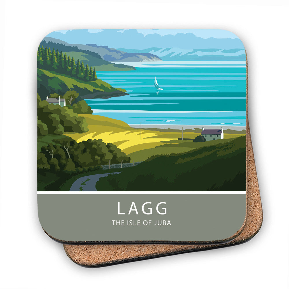 Lagg, The Isle of Jura, Scotland MDF Coaster
