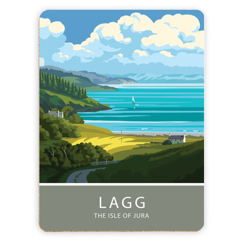 Lagg, The Isle of Jura, Scotland Placemat