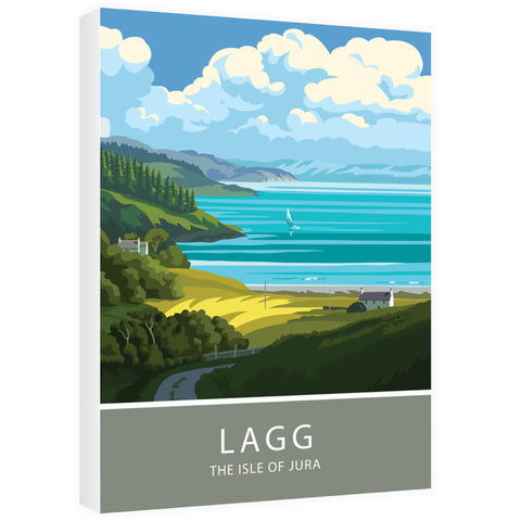 Lagg, The Isle of Jura, Scotland 60cm x 80cm Canvas
