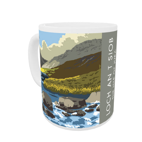 Loch An T Siob, The Isle of Jura, Scotland Coloured Insert Mug