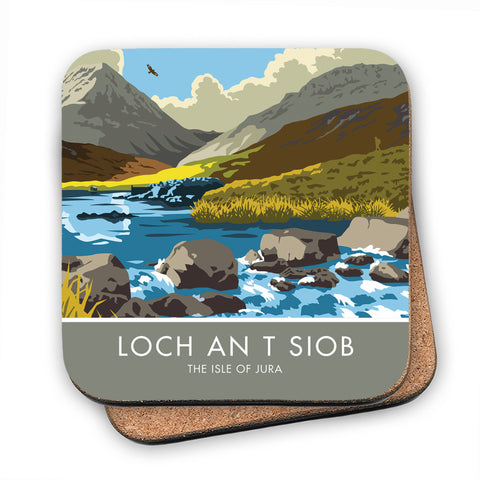 Loch An T Siob, The Isle of Jura, Scotland MDF Coaster