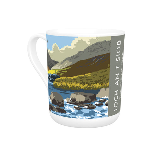 Loch An T Siob, The Isle of Jura, Scotland Bone China Mug