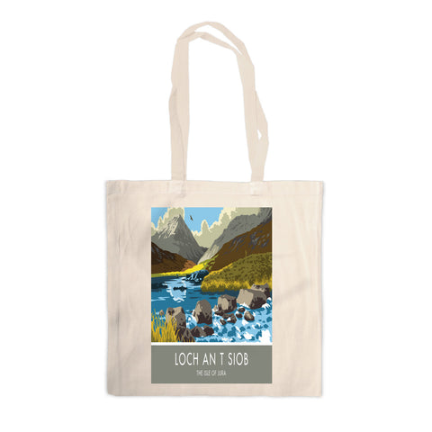 Loch An T Siob, The Isle of Jura, Scotland Canvas Tote Bag